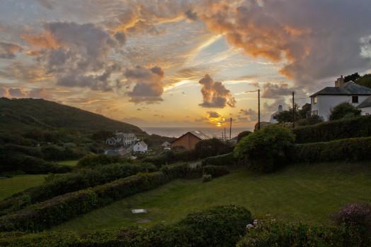 Cornwall Coastal Sunset