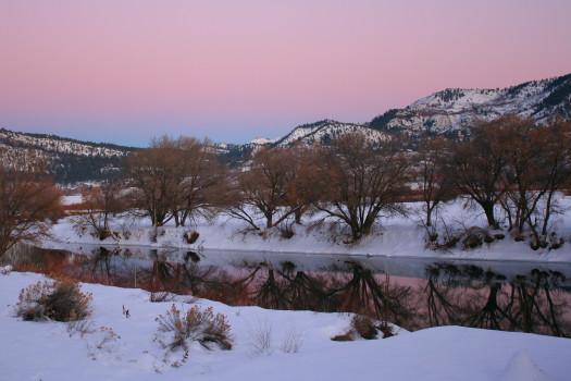 Durango Winter Evening