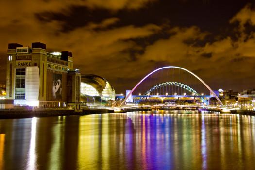 Over the Tyne